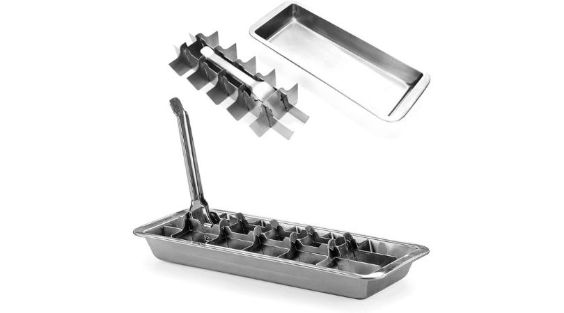 best_stainless_steel_ice_cube_tray_made_in_usa
